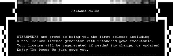Представлен кейген для взлома игры Dishonored 2 с системой защиты Denuvo, но никто не знает, как он работает - 2