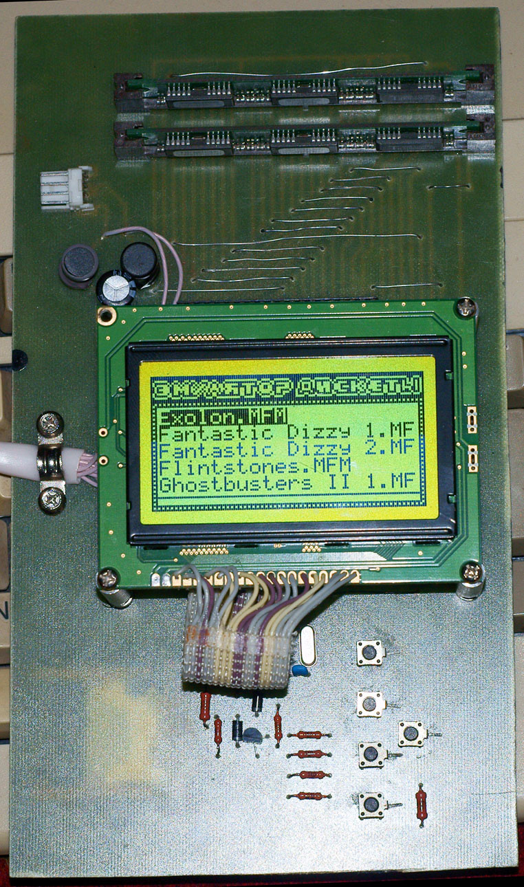 Самодельный эмулятор дисковода для Amiga - 3