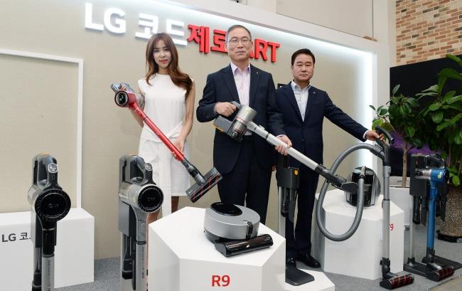 LG представила пылесос T9 с рекордной мощностью всасывания 250 Ватт и другие новинки