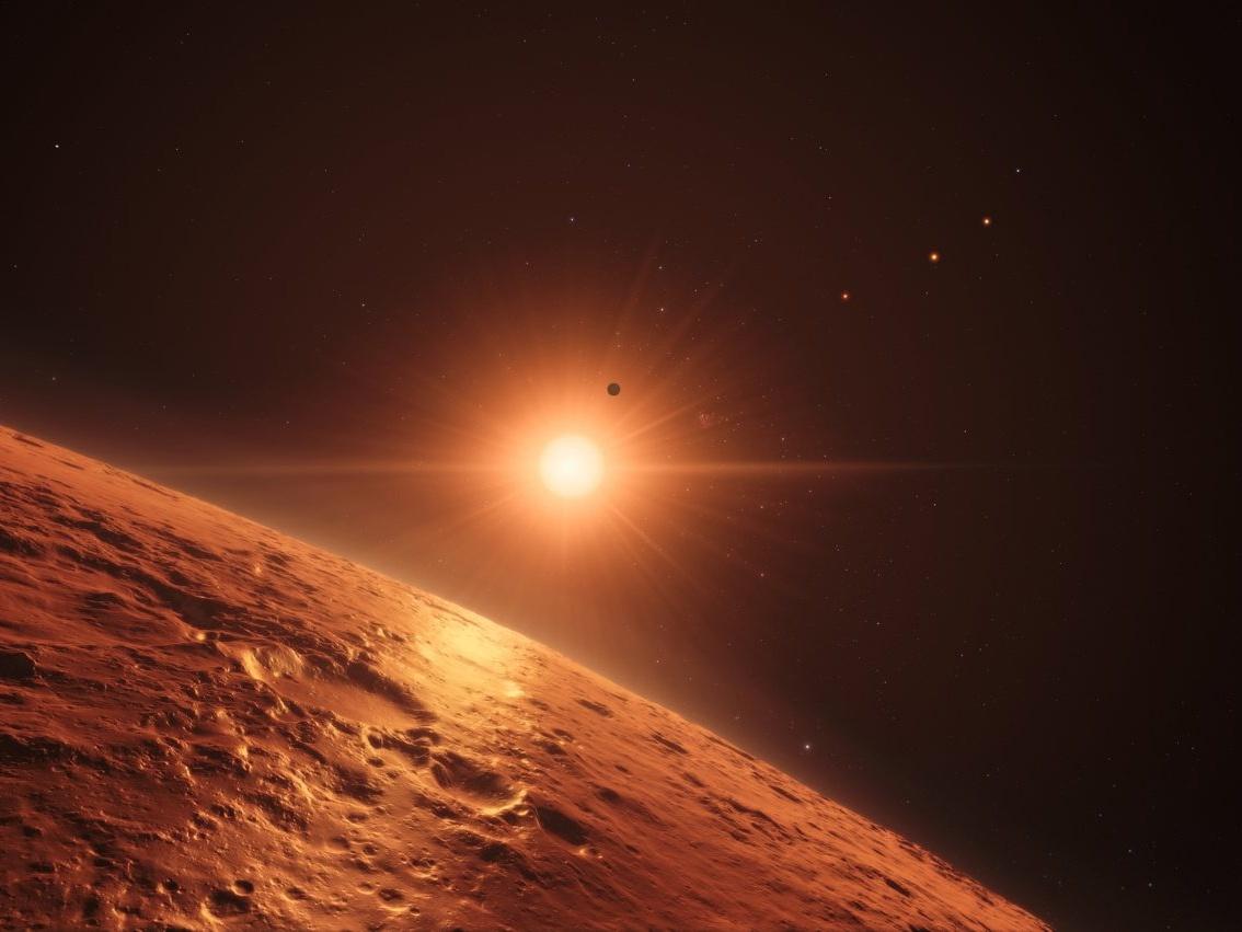 Изучение красных карликов показывает, что условия на планетах системы TRAPPIST-1 неоптимальны для жизни - 3