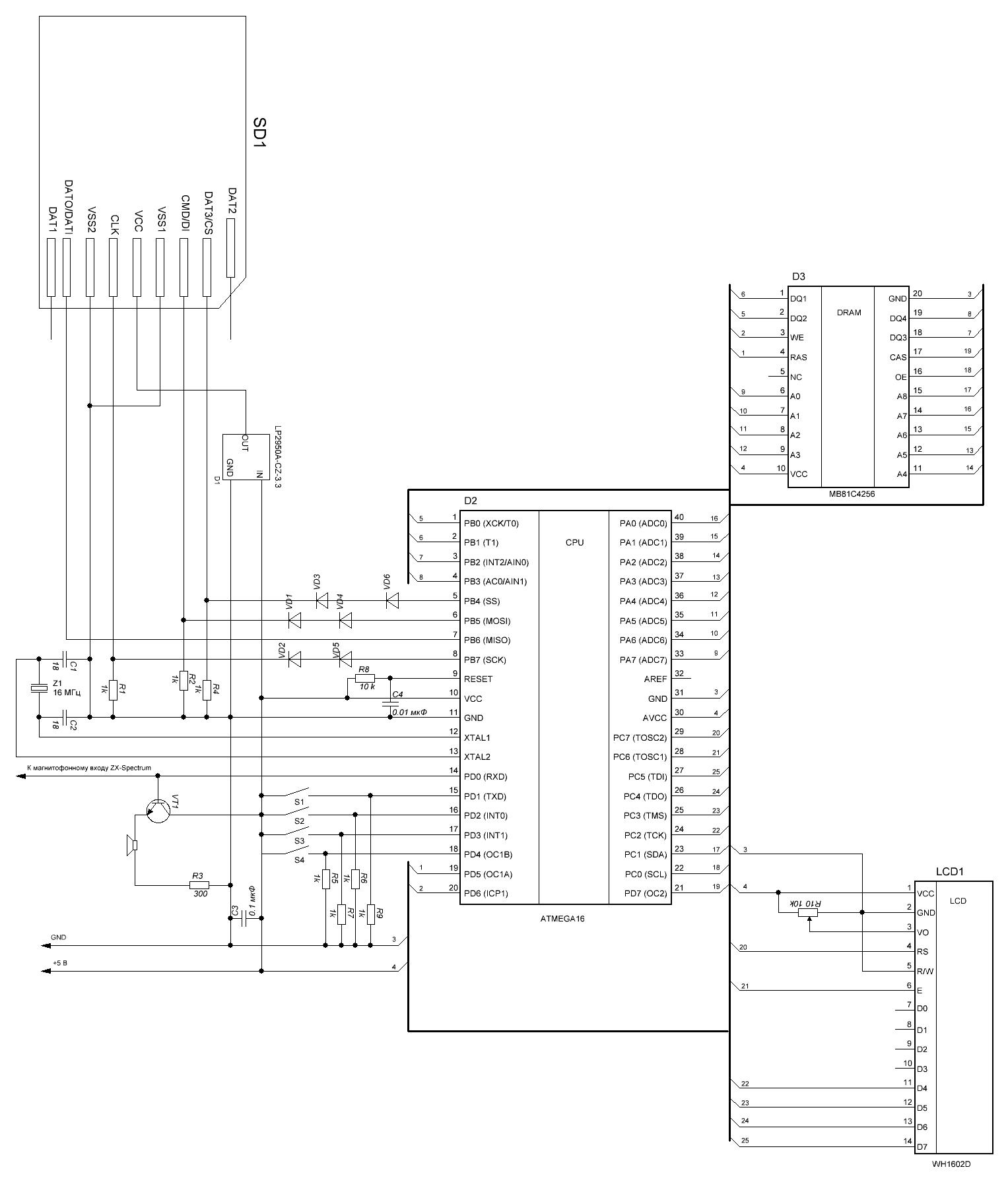 Эмулятор магнитофона для ZX-Spectrum - 2