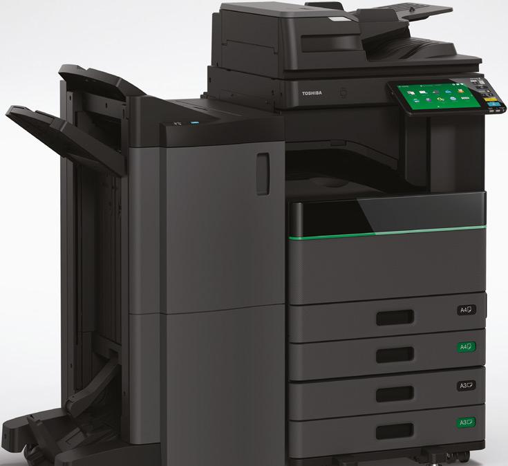 Скорость печати обычным черным тонером достигает 45 страниц в минуту, стираемым — 35 страниц в минуту
