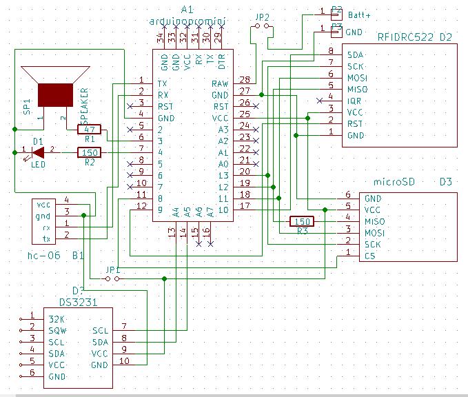 SportIduino — система электронной отметки на Arduino для спортивного ориентирования - 8
