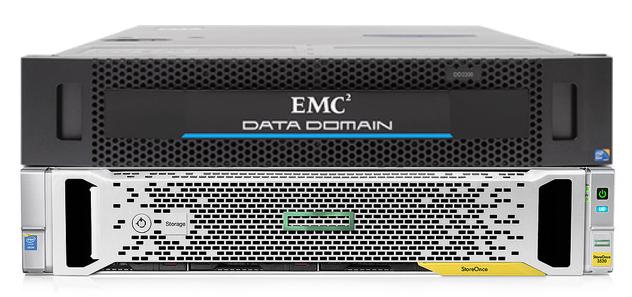 Жим лёжа: сравниваем HPE StoreOnce и EMC Data Domain - 1