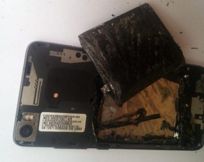 Производитель не признает дефект оборудования в истории со сгоревшим смартфоном Xiaomi Mi5 Pro