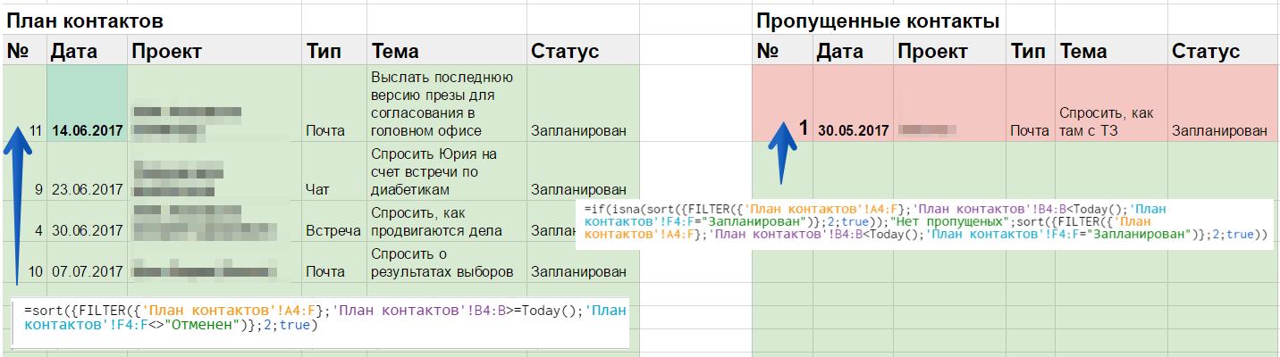 Своя CRM система за 3 часа в Гугл-таблицах - 5