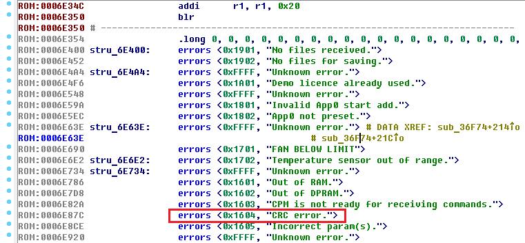 Hard Reverse или особенности реверса файлов для архитектуры PowerPC Big-Endian - 13