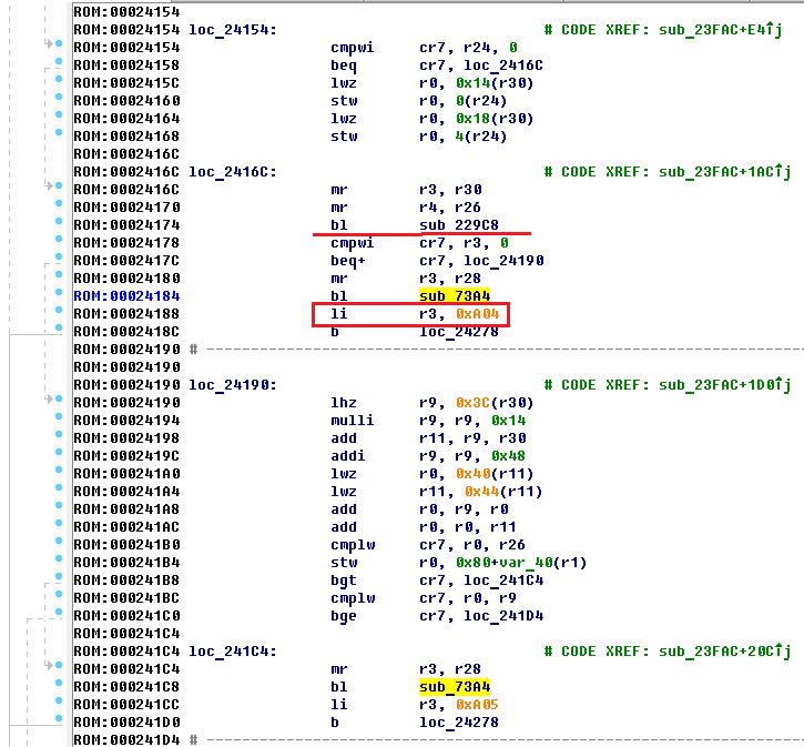 Hard Reverse или особенности реверса файлов для архитектуры PowerPC Big-Endian - 19