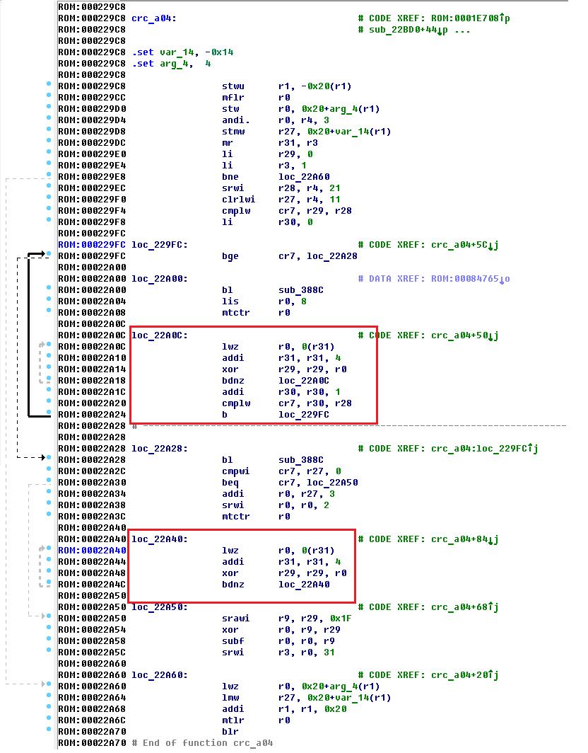 Hard Reverse или особенности реверса файлов для архитектуры PowerPC Big-Endian - 20