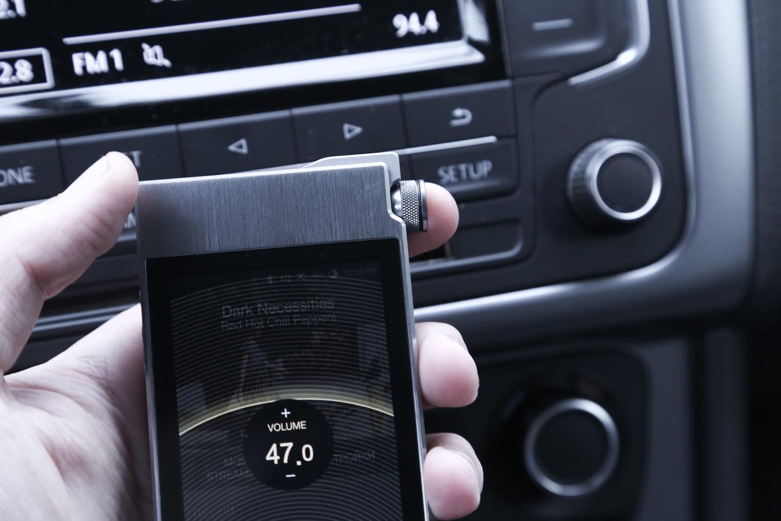 На четырех колесах: аудиоплеер Astell&Kern AK100 II и пульт AK RM01 - 16