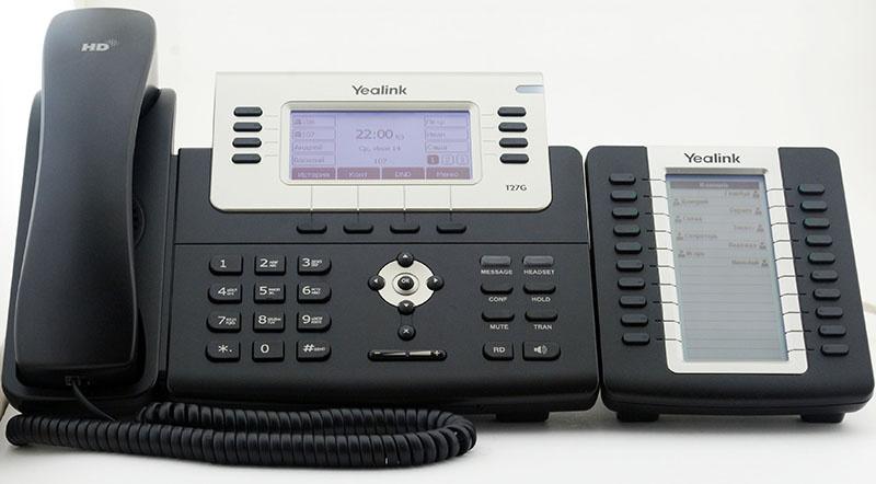 Обзор IP телефона Yealink SIP-T27G - 5