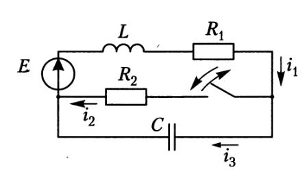 Моделирование переходных процессов при коммутации электрической цепи средствами Python - 2