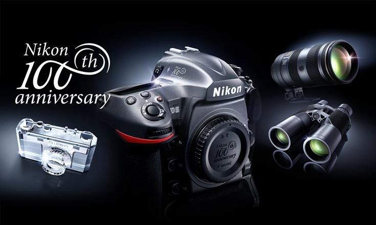 Памятная версия камеры Nikon D5 100th Anniversary Edition стоит $8000