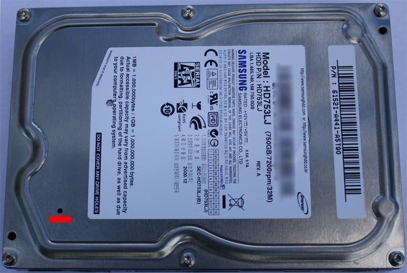Неглубокое погружение или восстановление данных с жесткого диска после затопления офиса - 2