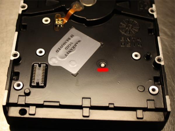 Неглубокое погружение или восстановление данных с жесткого диска после затопления офиса - 3
