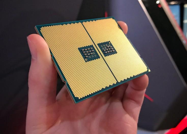 CPU AMD Ryzen Threadripper предстал на новом фото