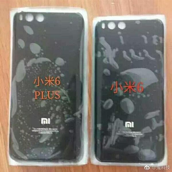 Смартфон Xiaomi Mi 6 Plus будет являться увеличенной копией младшей модели