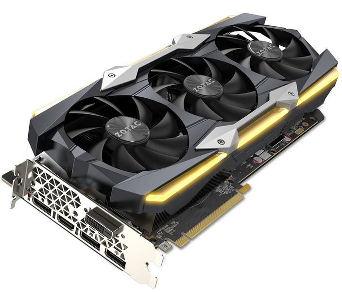 Zotac представила карту GeForce GTX 1080 Ti AMP Extreme Core Edition