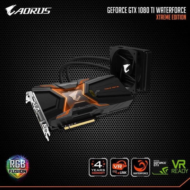 Интересной чертой Gigabyte GeForce GTX 1080 Ti Aorus WaterForce Xtreme Edition является возможность подключения гарнитуры виртуальной реальности