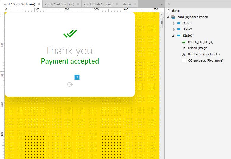 Интерактивная кредитка для ввода платежа - 5