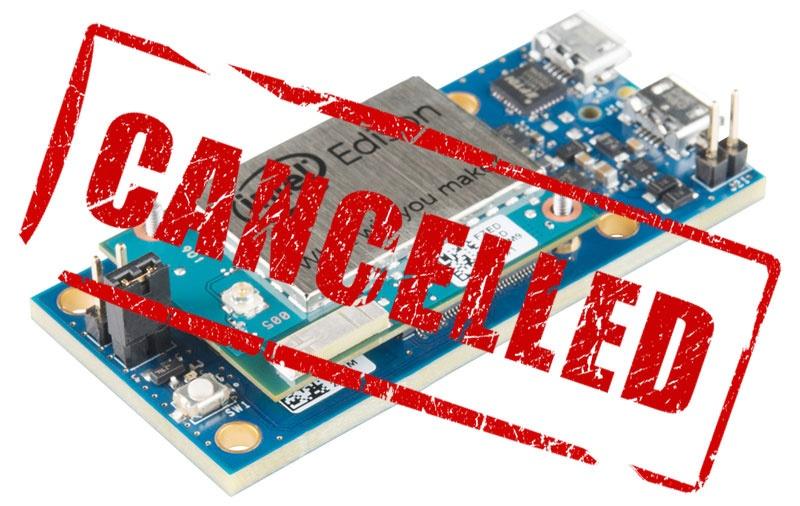 Intel отказывается от Edison, Galileo и Joule - 1