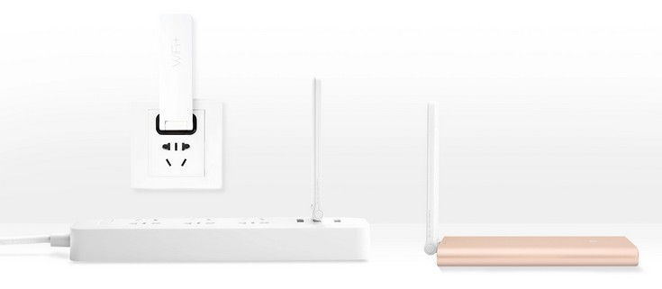 Xiaomi показала Mi Wi-Fi Repeater 2 и Mi Bluetooth Speaker Mini