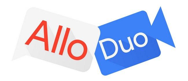 Приложения Google Allo и Google Duo стали чуть дружнее