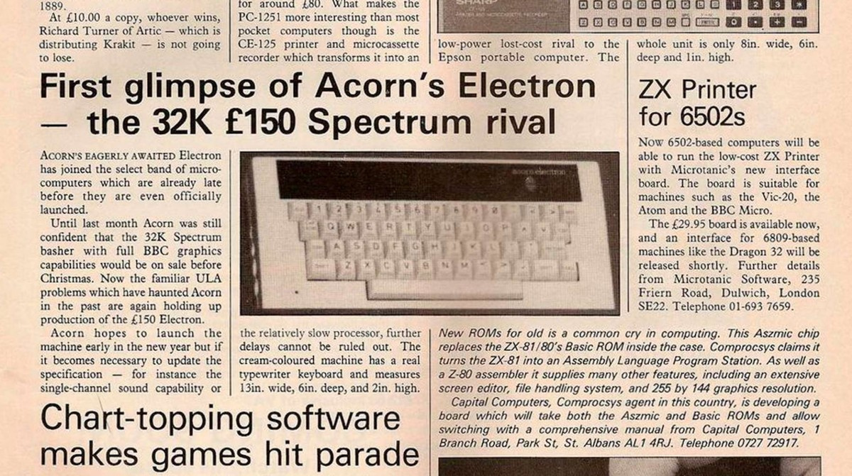 Acorn Electron — неудачный наследник BBC Micro - 3