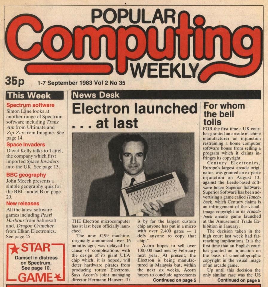 Acorn Electron — неудачный наследник BBC Micro - 7