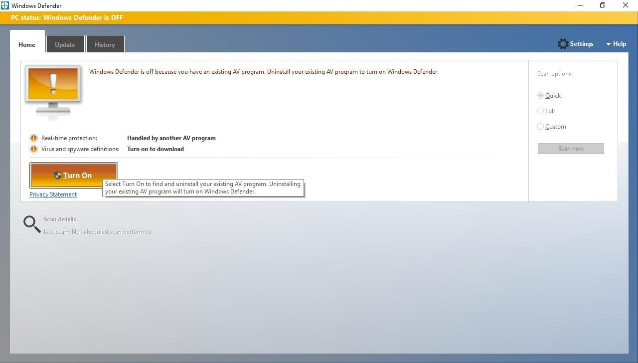 Microsoft признала, что иногда отключает части сторонних антивирусов - 2