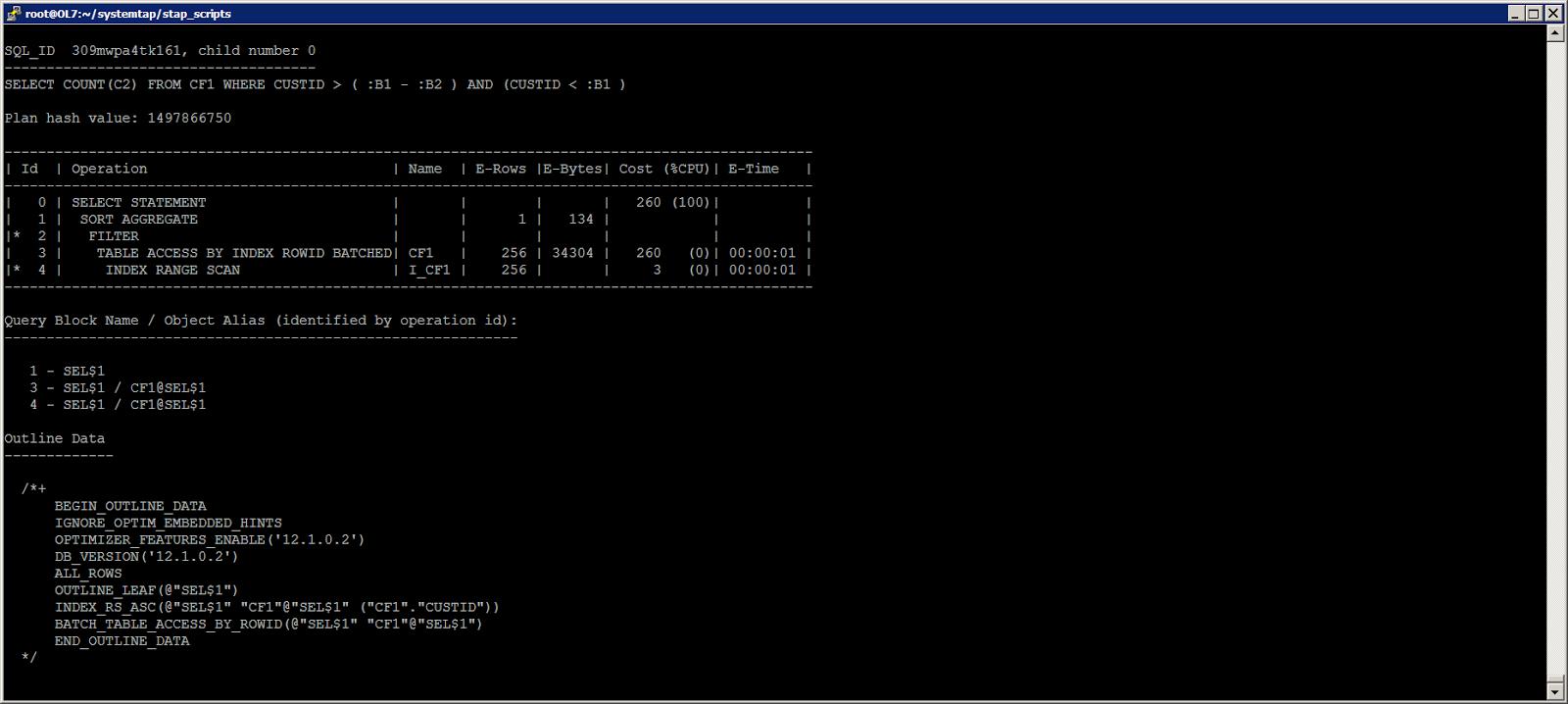 Жизнь Oracle I-O: трассировка логического и физического ввода-вывода с помощью SystemTap - 7