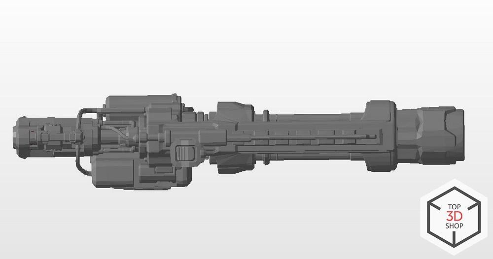 [КЕЙС] Как мы печатали гигантский пулемет с Марса для стенда на E3 - 13