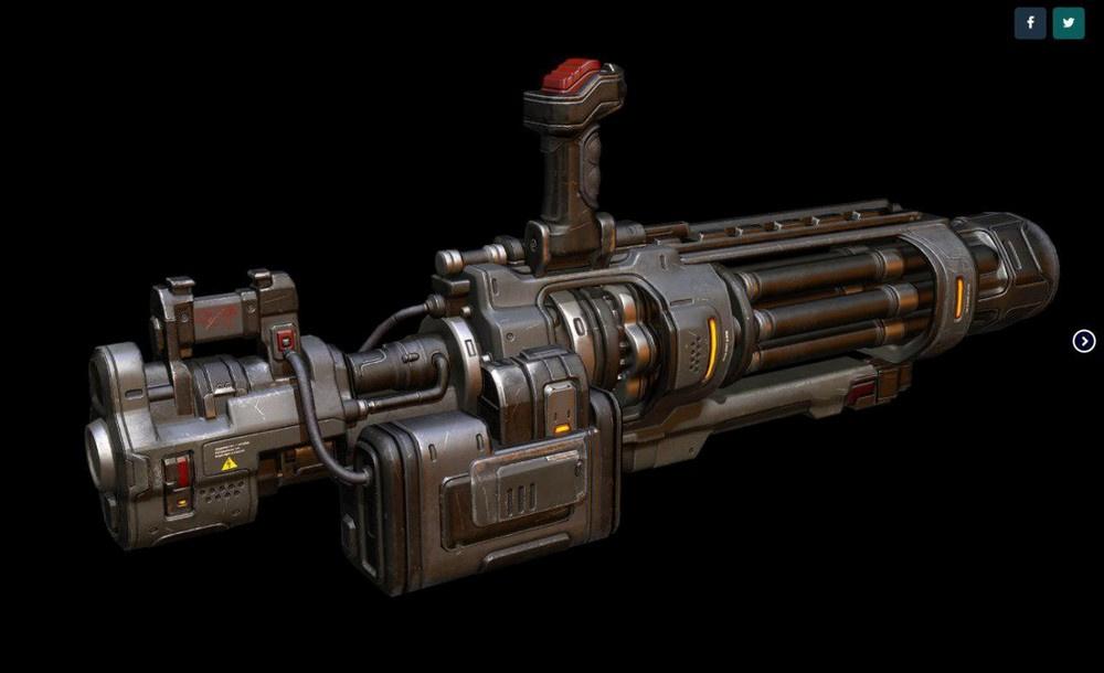 [КЕЙС] Как мы печатали гигантский пулемет с Марса для стенда на E3 - 2