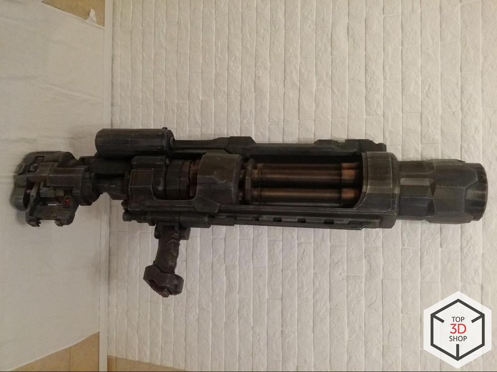 [КЕЙС] Как мы печатали гигантский пулемет с Марса для стенда на E3 - 24