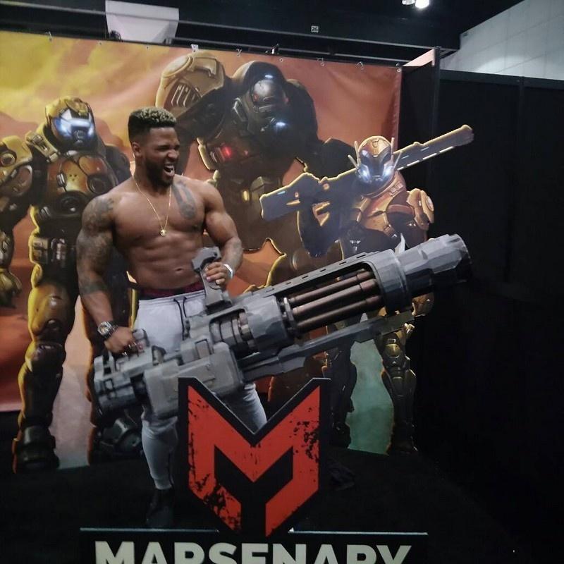 [КЕЙС] Как мы печатали гигантский пулемет с Марса для стенда на E3 - 26