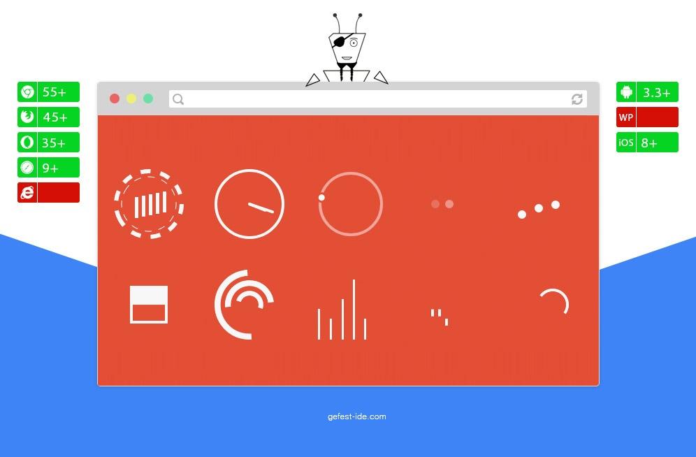 Preloader на svg - SVG Loader Animation