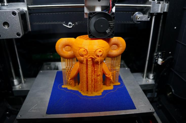 Продажи 3D-принтеров продолжают расти