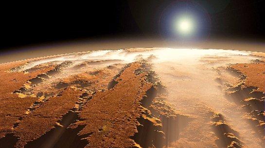 Ученые рассказали, откуда на поверхности Марса взялась вода