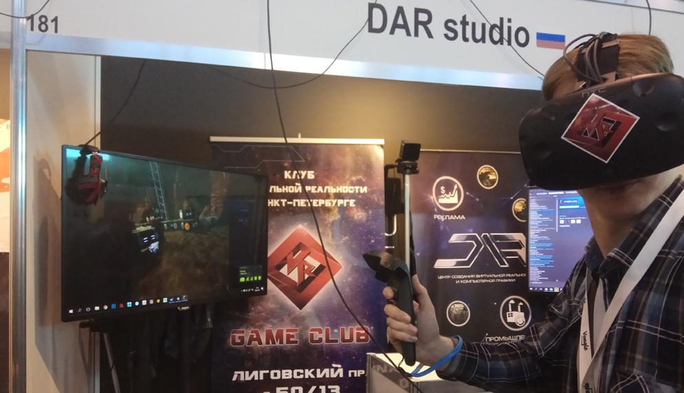Виртуальная реальность на геймдев-конференции White Nights - 2