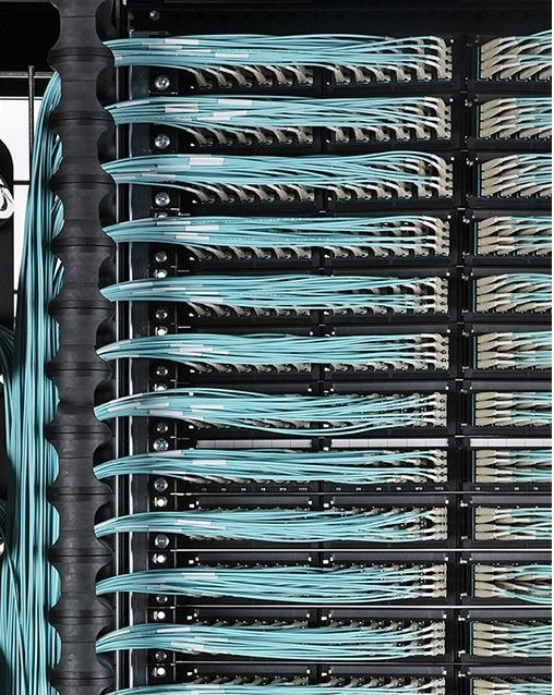 Организация коммутационного поля СКС высокой плотности - 11