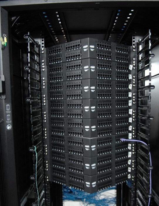Организация коммутационного поля СКС высокой плотности - 14
