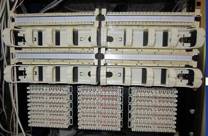 Организация коммутационного поля СКС высокой плотности - 6