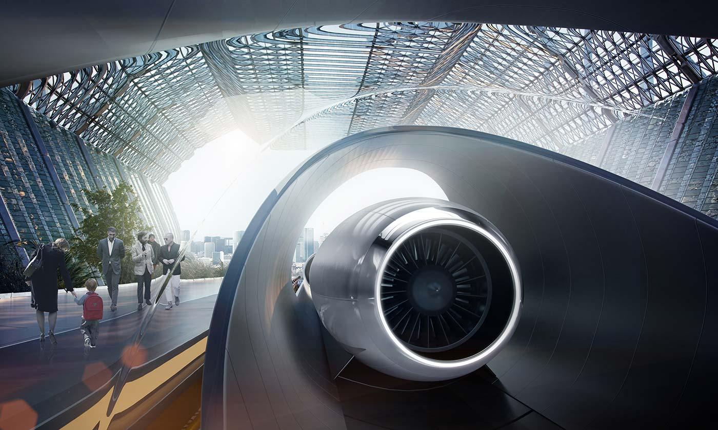 Южная Корея построит у себя первую в мире трассу Hyperloop - 1