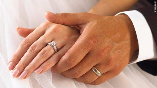 Мужчинам вредно носить обручальные кольца