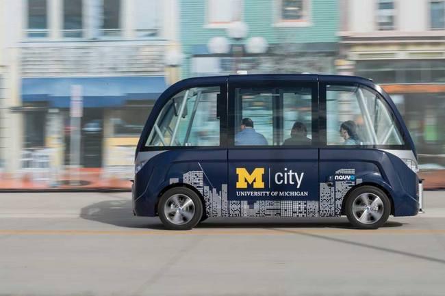 В Мичиганском университете появятся беспилотные автомобили