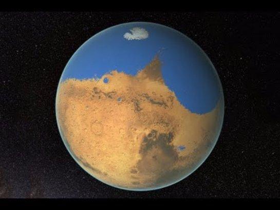 В НАСА сняли ролик о Марсе, в котором сообщается, что эта планета имеет все шансы, чтобы стать обитаемой