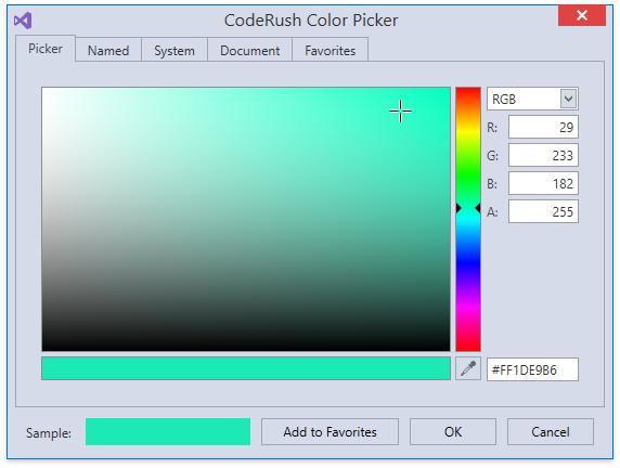 Возможности CodeRush for Roslyn для XAML - 6