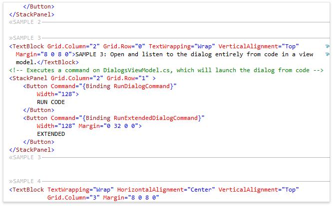 Возможности CodeRush for Roslyn для XAML - 7