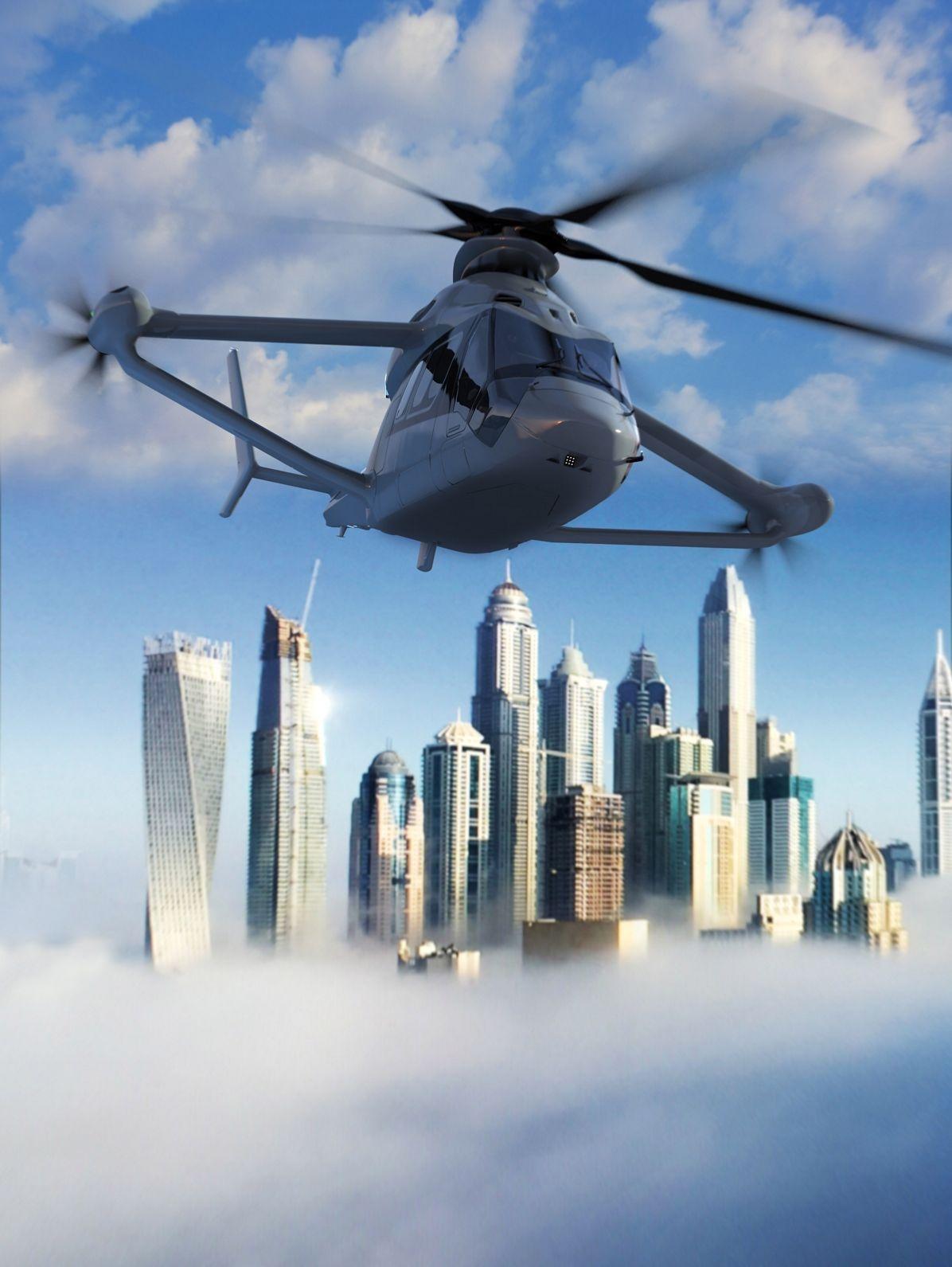 Airbus Racer — вертолет, сочетающий в себе достоинства вертолета и самолета - 3