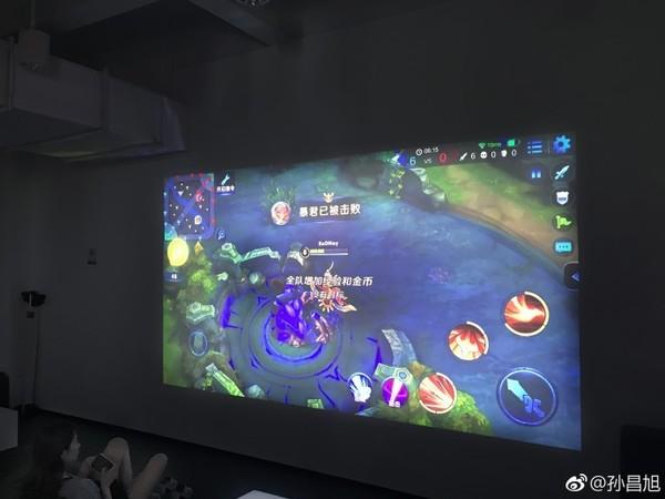 Xiaomi готовится представить 120-дюймовый проектор